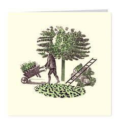 Gardener by Eric Ravilious