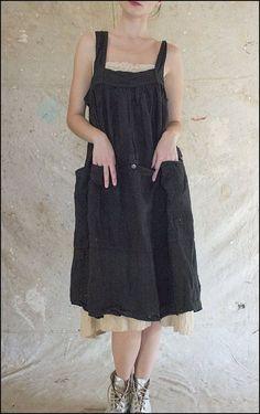 Eugenia Apron Dress 263 Black .01.jpg