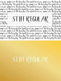 Stiff font is perfect for casual and playful design. Fancy Fonts, Cool Fonts, Sans Serif Fonts, Casual, Design, Stylish Fonts, Design Comics, Random, Casual Clothes