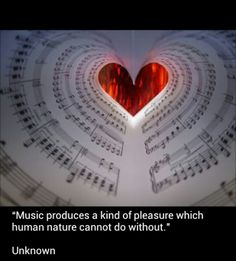this is what music does to my heart