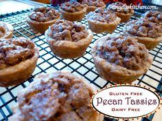Pecan Tassies - gluten-free, dairy-free