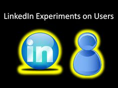 LinkedIn Experiments on Users. How LinkedIn Treats it Users Like Lab Rats. Lab Rats, Blue Dog, Treats, Blog, Sweet Like Candy, Goodies, Snacks, Sweets