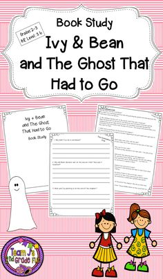 Ivy and bean trivia quiz for ivy bean fans pinterest trivia book study for ivy and bean and the ghost that had to go 3 questions for chapter answer key included fandeluxe Image collections