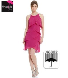 Haz Pin a este producto Chic, Vestidos, Chiffon, Hot Pink, Colors, Shabby Chic, Elegant, Classy