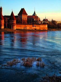 Malbrok castle, Poland by renatocorteschile, via Flickr
