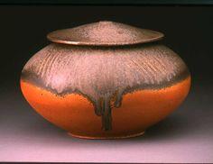 *Ceramic Lidded Jar by Bede Clark Ceramic Boxes, Ceramic Jars, Glass Ceramic, Ceramic Pottery, Pottery Art, Pottery Ideas, Slab Pottery, Pottery Designs, Pottery Studio