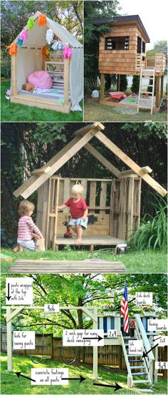 Playhouse For Kids: 10+ Amazing Plans The Kids Will Love! - Pondic