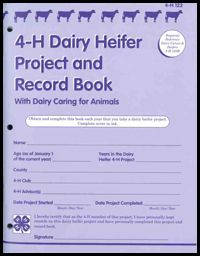 Purchase Dairy Heifer Project and Record Book from the Ohio State University Extension Publications store Animal Science, Recorded Books, Science Projects, 4 H, Life Lessons, Dairy, Learning, Yard Ideas, Ohio