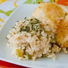 garlic rice pilaf