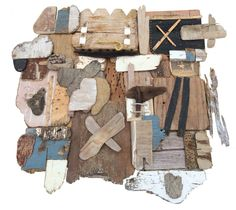 Artist Scott Bluedorn Naufragia, x found wood, driftwood, rope Hamptons House, The Hamptons, School Of Visual Arts, Living On The Edge, East Hampton, Beach Art, Beautiful Beaches, Driftwood, Craftsman