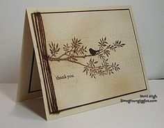 CAS262 thank you by donidoodle - Cards and Paper Crafts at Splitcoaststampers
