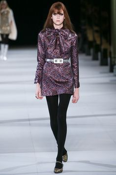 Saint Laurent Autumn/Winter 2014-15 Ready-To-Wear Vogue UK