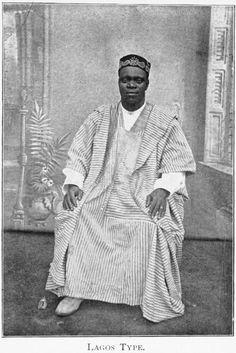 A Lagos man, 1910