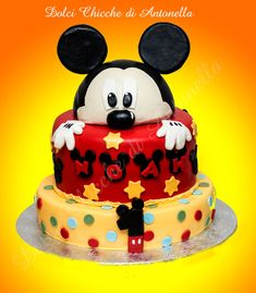 topolino- mickeymouse-torte-torte decorate- cake design-la spezia-liguria