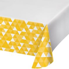 """54"""" x 102"""" School Bus Yellow Plastic Tablecover/Case of 12 Tags: Fractal; Plastic Tablecover; Fractal; Fractal School Bus Yellow Plastic Tablecover; https://www.ktsupply.com/products/32786351307/54doublequote-x-102doublequote-School-Bus-Yellow-Plastic-TablecoverCase-of-12.html"""