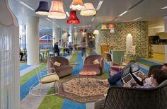 Уютный офис Google в Лондоне (14 фото)