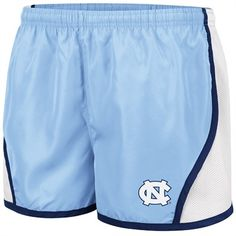 North Carolina Tar Heels Ladies Carolina Blue Colosseum Flip Short Unc University, University Of North Carolina, Carolina Pride, Carolina Blue, Unc Apparel, Unc Gear, Unc Tarheels, Tar Heels, Cross Country