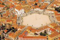 ''PIAZZA GRANDE DI PALMANOVA'' - centre of the star shaped Palmanova 16th century Renaissance city in Italy