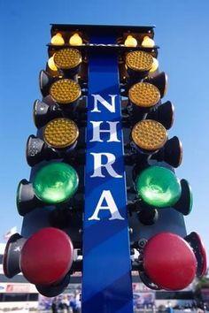 NHRA Christmas Tree
