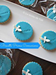 Biscotti decorati per Prima Comunione