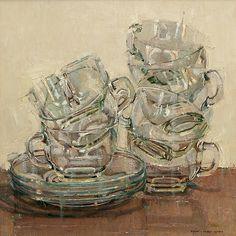Stacks by Dianne Massey Dunbar - Greenhouse Gallery of Fine Art