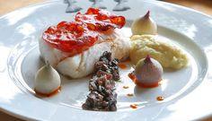 Ovnsbakt skrei med chorizo - Godfisk