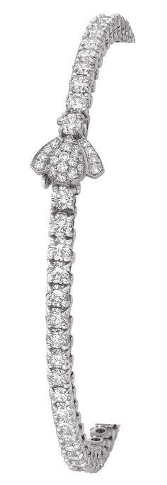 Chaumet diamond bee bangle | The House of Beccaria~