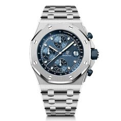 Audemars Piguet - Royal Oak Offshore Chronograph 42 mm, 2021 Editions | Time and Watches | The watch blog Stainless Steel Bracelet, Stainless Steel Case, Royal Oak Offshore Chronograph, Watch Blog, Audemars Piguet Royal Oak, Metal Bracelets, Sport Watches, Casio Watch, Omega Watch