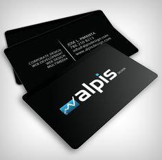 Alpis Design Business Card - Business Cards - Creattica