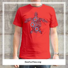 """This """"Sea Turtle Tee"""" supports seeturtles.org an organization trying to keep turtle species from going extinct."""