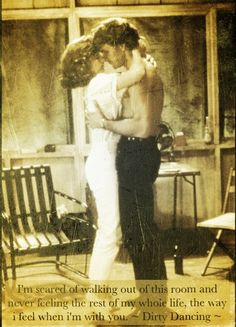 Dirty Dancing. I melt at this scene! Every. Time!!!!