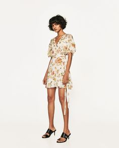 ZARA - WOMAN - MINI DRESS WITH PRINT