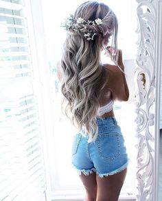 35 wedding hair accessories you can frisuren haare hair hair long hair short Wedding Hairstyles For Long Hair, Wedding Hair And Makeup, Bride Hairstyles, Wedding Hair Accessories, Pretty Hairstyles, Bridal Hair, Hair Wedding, Wedding Shoes, Wedding Dresses