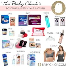 postpartum essentials for mom