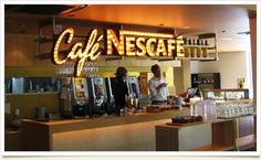 Cafe Nescafe 原宿