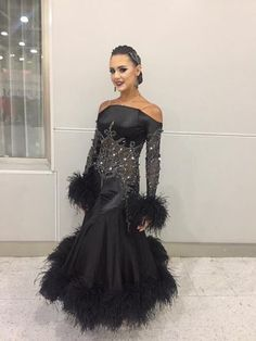 elvira black dress