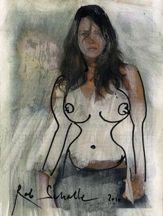 Rob Scholte (1958) is een Nederlands kunstenaar. Zijn werkwijze is illustratief voor het postmodernisme en legt de nadruk op de permanente toestroom van beelden die ons omringen, vormen en kneden. Thematisch zijn steeds de media, hij haalt er inspiratie uit, geeft kritiek op de manipulatie ervan . De minutieus geschilderde werken van zijn hand worden doorgaans geproduceerd door assistenten en door hem zelf gesigneerd.