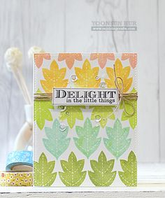 DELIGHT by Yoonsun at @studio_calico