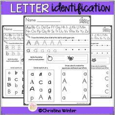 Letter Identificatio