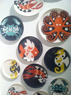 Thomas Paul: The newest collection of melamine plates from Thomas Paul via ICFF/2013