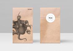 Polpo Restaurant by Richard Marazzi, via Behance