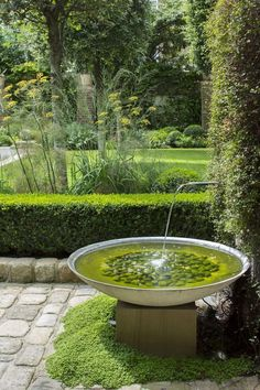 wasser im garten Outdoor Water Fountain 2 Decor amp; Indoor Water Fountains, Garden Fountains, Wall Fountains, Fountain Garden, Indoor Water Garden, Outdoor Fountains, Garden Living, Garden Cottage, Amazing Gardens