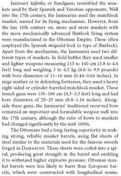 "Ottoman matchlocks. ""Encyclopedia of the Ottoman Empire"", Ga ́bor A ́goston, Bruce Alan Masters, Jan 1, 2009."