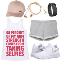 Crush it at the gym by talking gorgeous selfies in the gym mirror. They'll know why your arms are so defined.