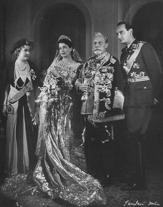 Wedding of Grand Duchess Kira Kirillovna of Russia and Louis Ferdinand  *second son of Crown Prince Wilhelm and Crown Princess Cecilie of Prussia...son and daughter in-law of Kaiser Wilhelmina...