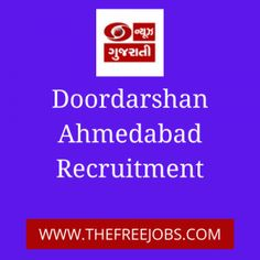 Doordarshan Ahmedabad, Has Published notification for the recruitment of News Stringers Vacancy. Those candidates who are interested in the vacancy details & Completed all eligibility like age limit, educational qualification, selection process, application fee criteria ... Read moreDoordarshan Ahmedabad Recruitment for News Stringers Posts 2020 The post Doordarshan Ahmedabad Recruitment for News Stringers Posts 2020 appeared first on TheFreeJobs.Com. Apply Online, Ahmedabad, How To Apply, Posts, Age, Education, News, Reading, Messages