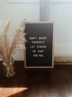 Don't doubt yourself. Campfire Cookies, Chef Quotes, Quote Of The Week, Holiday Wreaths, Faith, Let It Be, Messages, Instagram, Campfire Biscuits