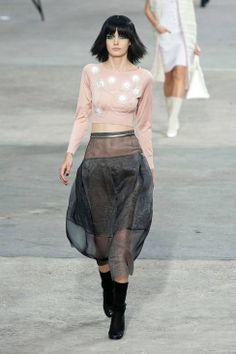 Chanel S/S 2014: Pink, Pearls, Tweed & Rainbows