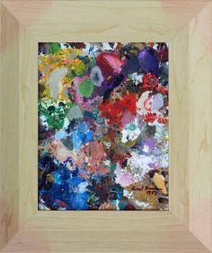 "Wandbild ""Abstrakter Expressionismus"" Ernst Fermen *1947 ""Moderne Kunst"" 1290 xx   eBay"