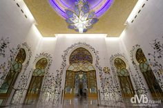 Leading to the Main Prayer Hall of The Sheikh Zayed Grand Mosque, Abu Dhabi, UAE. April 22nd, 2014.